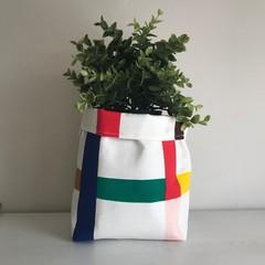Large fabric planter   Storage basket   Pot Cover   CHECK