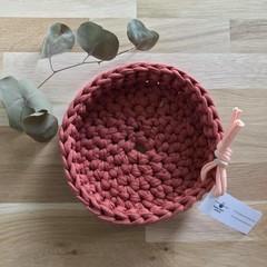 Crochet baskets | MULTIPLE SIZES | TERRACOTTA