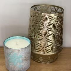 Large Christmas Candle Cinnamon & Vanilla