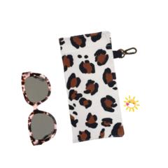GLASSES CASE | SUNGLASSES Case - Leopard Love