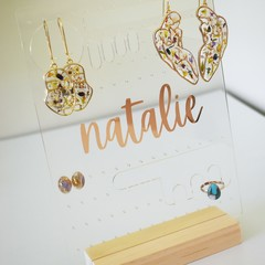 Personalised Jewellery Display Holder
