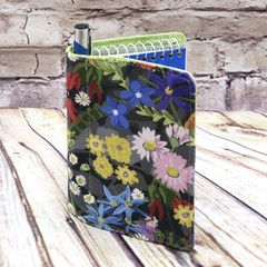 Australian wildflowers Fabric Pocket Notepad Cover