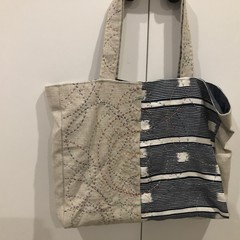 Sashiko Tote -  NB  BUY TWO - GET A THIRD ONE FREE SEE BELOW FOR CONDITIONS