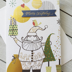 Merry Christmas Handmade Card