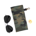 GLASSES CASE | SUNGLASSES Case - Camo Green