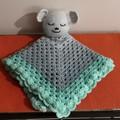 Baby Bear Lovey ..Hand Crocheted