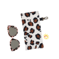 GLASSES CASE | SUNGLASSES Case - Leopard Love
