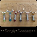Beaded Angel Winemarkers (5x available)