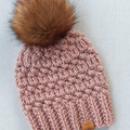 CUSTOM ORDER FOR TRISTY - Two Adult Beanies