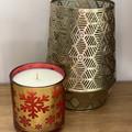 Large Gold Christmas Candle Island  Christmas