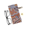 GLASSES CASE | SUNGLASSES Case - Making Tracks in Desert