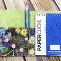 Australian wildflowers Fabric Pocket Notepad Cover