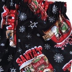 "Size 3 - ""Santa at the North Pole"" Christmas Shorts"
