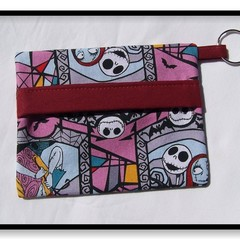 Nightmare Before Christmas Face Mask Carry Pouch