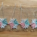 Set of 4 Transgender Decorations (Blue Top)