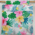 Handmade Canvas Clothes Peg Bag Holder Floral Print- For Trolley & Washing Line