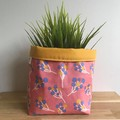 Small fabric planter | Storage basket | Pot cover | BALLOONS