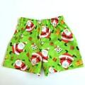 """Size 1 - """"Jolly Santa"""" Christmas Shorts"""