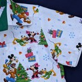 Mickey and Minnie Boys Xmas Shirt - Size 6