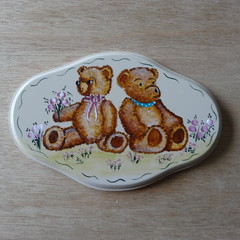 Two Teddy Bear Plaque