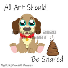 All Art Should Be Shared Printable