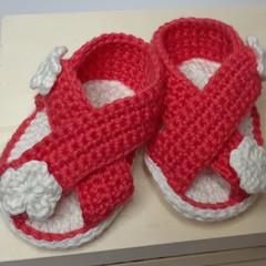 Sandals 'n' flowers