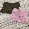 Crochet Baby Bolero, Shrug, Cardigan