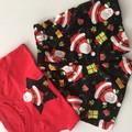 "Size 3 - ""Jolly Santa"" Shorts  and SInglet"