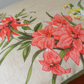 Vintage Australian Wildflowers Linen Cushion