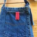 Recycled Jeans Shoulder Bag