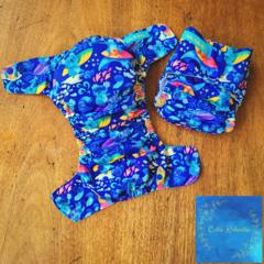Reusable Cloth Nappy - Surfing Koala