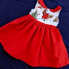 Santa Dress -Size 3 only