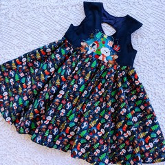 Cute Christmas Friends Dress sizes 2 & 6 only