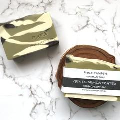 Clearance Sale - Handmade Soap - Tobacco & Bay Leaf