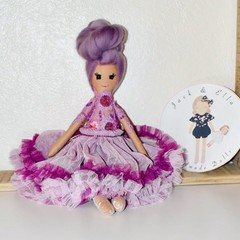 Purples small one of doll