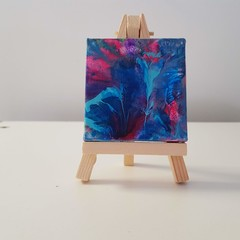 Novelty Mini Canvas with Easel