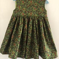 Lovely green Christmas dress size 5