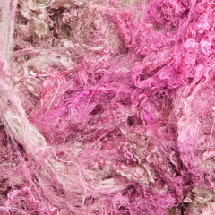 Silk Throwsters Hand Dyed 10g Color way -  Tea Rose.