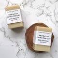 Handmade Soap - Shea Butter Pick Clay/Rose Geranium | for sensitive skin