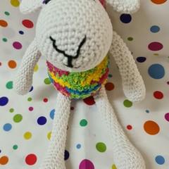 Hand-Crocheted Lambs