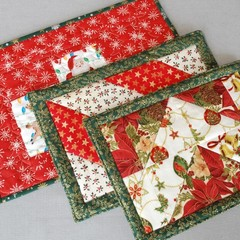 More Christmas Placemats (Pair)