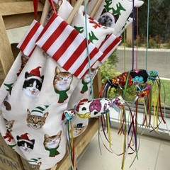 Deluxe Kitty  Christmas Stocking