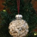 Christmas Bauble ~ Harry Potter ~ Book Bauble ~