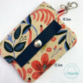 Minimalist wallet | Bus Pass holder | ID Holder | Cloth wallet