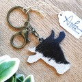 Key Ring, Genuine Cowhide, Bronze, Gold  Silver