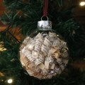 Christmas Bauble ~ Pride And Prejudice ~ Jane Austin ~ Mr Darcy and Elizabeth ~