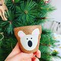 "Pocket Rocket ""Kenny the Koala"" Pot! 🎄 The Christmas Edition! 🎄"