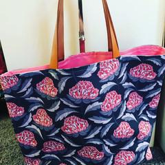 Waratah Tote Bag