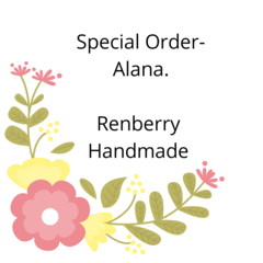 Special order for Alana