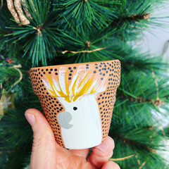 """Pocket Rocket """"Connie the Cockatoo"""" Pot! 🎄 The Christmas Edition! 🎄"""